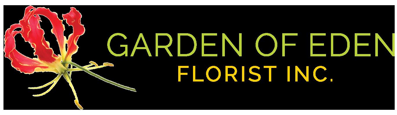 Garden of Eden Florist Logo